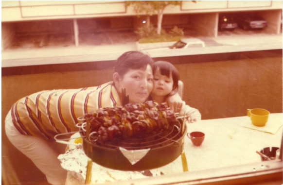 My mom and I, circa 1980.