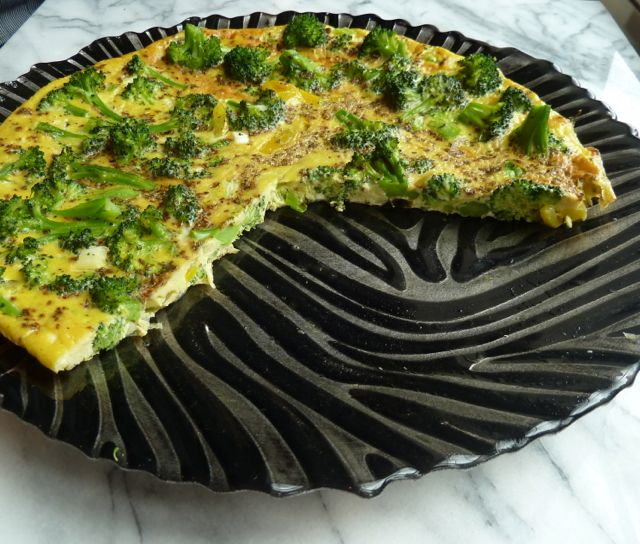 Califonia Broccoli Frittata.