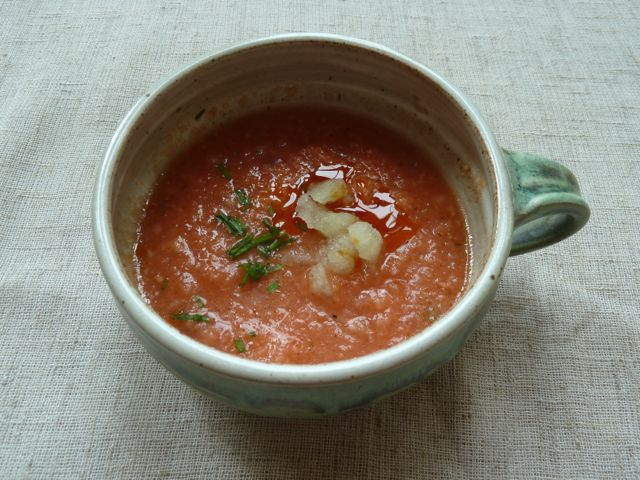 Reel Chow's Chilly Gazpacho
