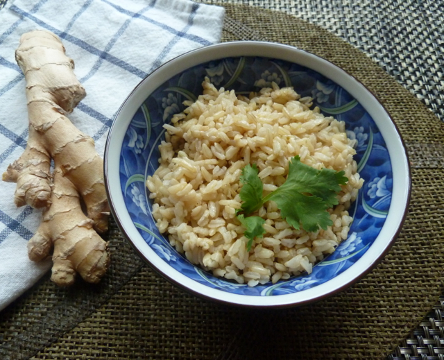Ginger Brown Rice.